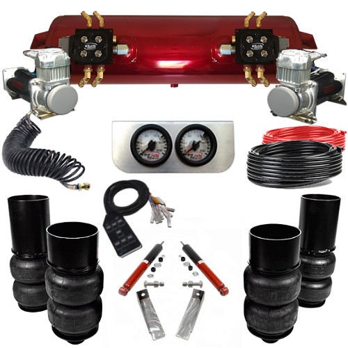 1965-1970 Chevy Wagons Elite EZ Air Ride Suspension Kit