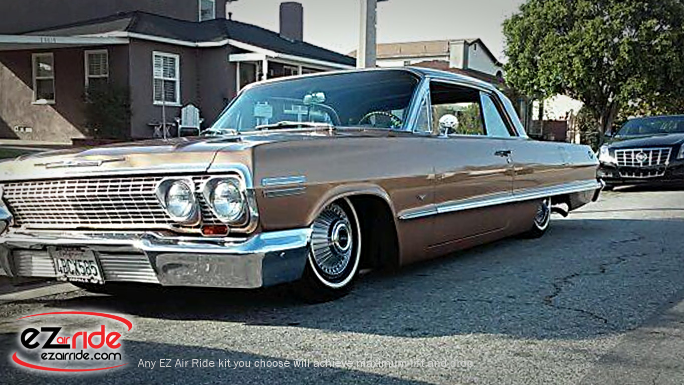 1958-1964 Chevy Impala Deluxe EZ Air Ride Suspension Kit