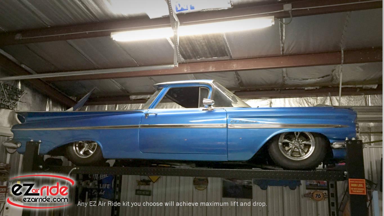 1959 1960 Chevy El Camino Platinum Ez Air Ride Suspension Kit Wiring Diagram Proud