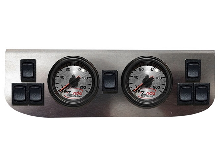 FBSS Electric 7 Switch Dual Gauge Panel
