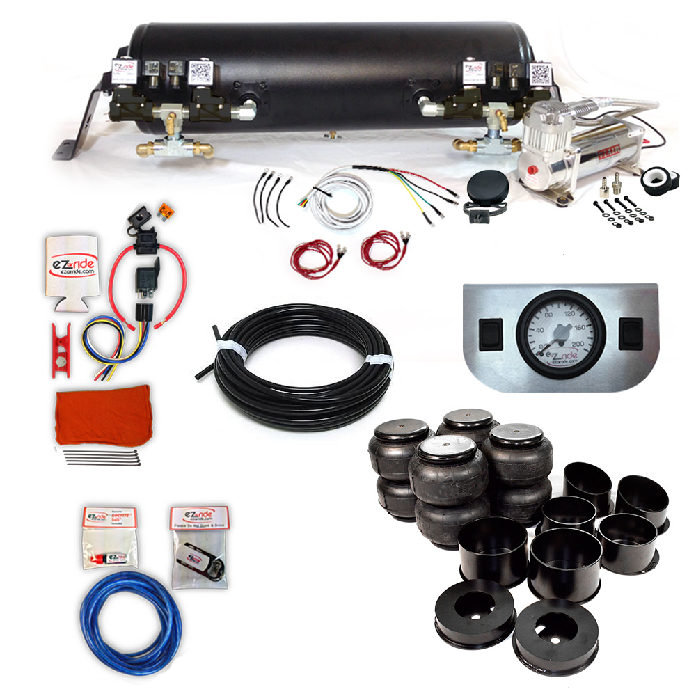 1964-1972 Chevy Chevelle Deluxe EZ Air Ride Suspension Kit