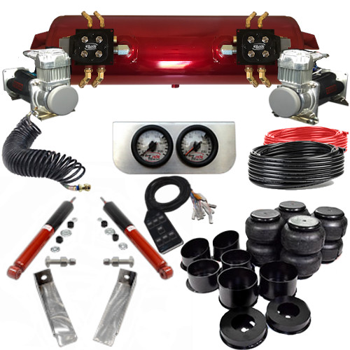 1964-1972 Oldsmobile Cutlass Elite EZ Air Ride Suspension Kit - A Body