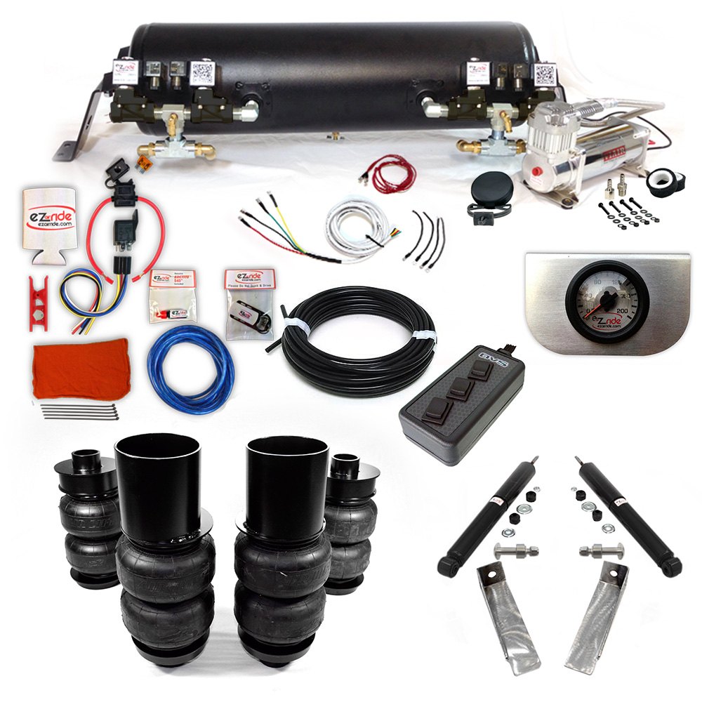 1965-1970 Cadillac RWD Platinum EZ Air Ride Suspension Kit