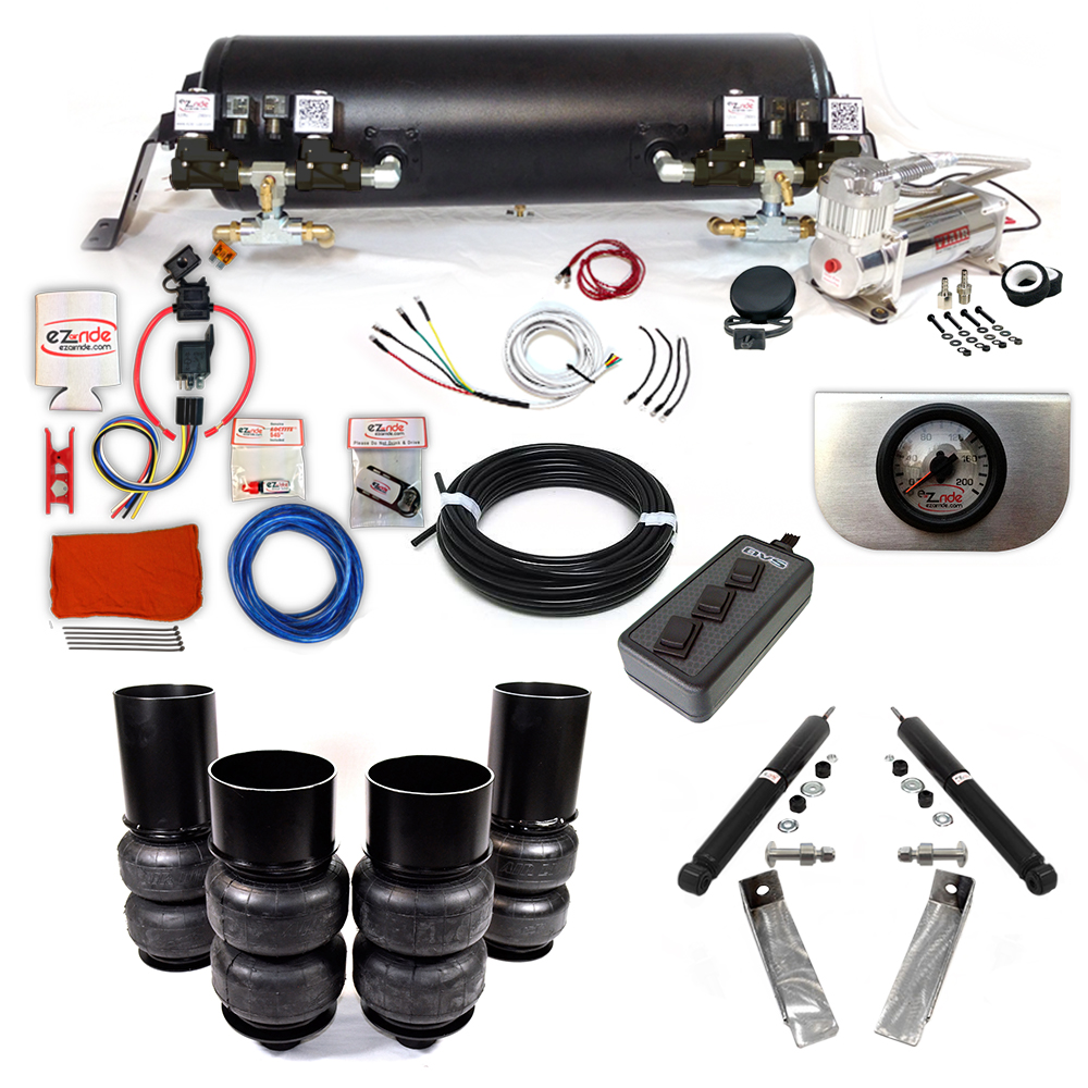 1965-1970 Chevy Wagons Platinum EZ Air Ride Suspension Kit