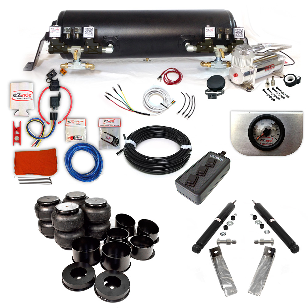 1964-1972 Chevy Chevelle Platinum EZ Air Ride Suspension Kit