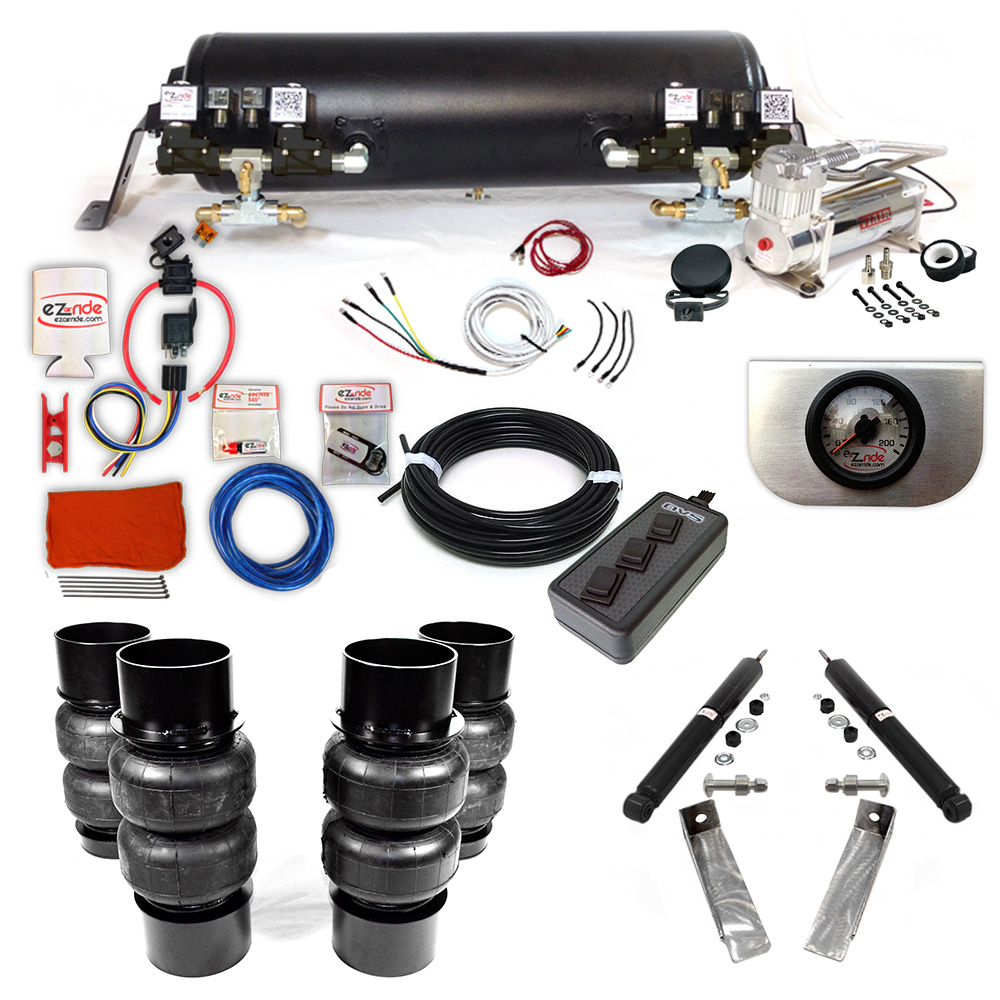 1977-1996 Cadillac RWD Platinum EZ Air Ride Suspension Kit