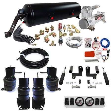 1958-1964 Chevy Wagon Classic+ EZ Air Ride Suspension Kit