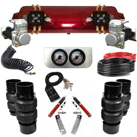 1973-1977 Pontiac Grand Prix Elite EZ Air Ride Suspension Kit - B Body