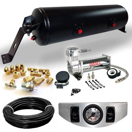 EZ Air Management Kit 2 Way Air Ride Suspension Kit