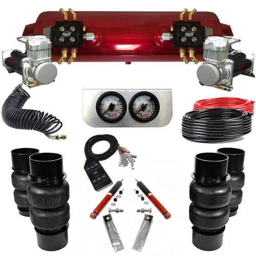 1973-1977 Chevy Chevelle Elite EZ Air Ride Suspension Kit - B Body