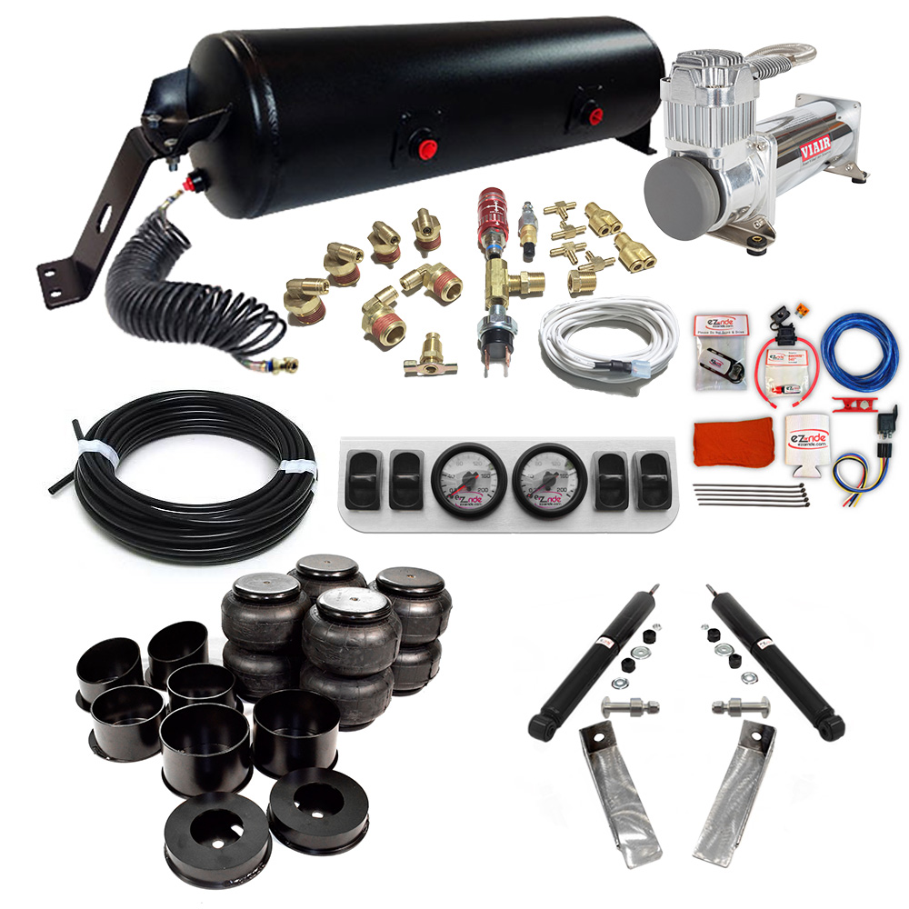 1964-1972 Chevy Chevelle Classic+ EZ Air Ride Suspension Kit A-Body