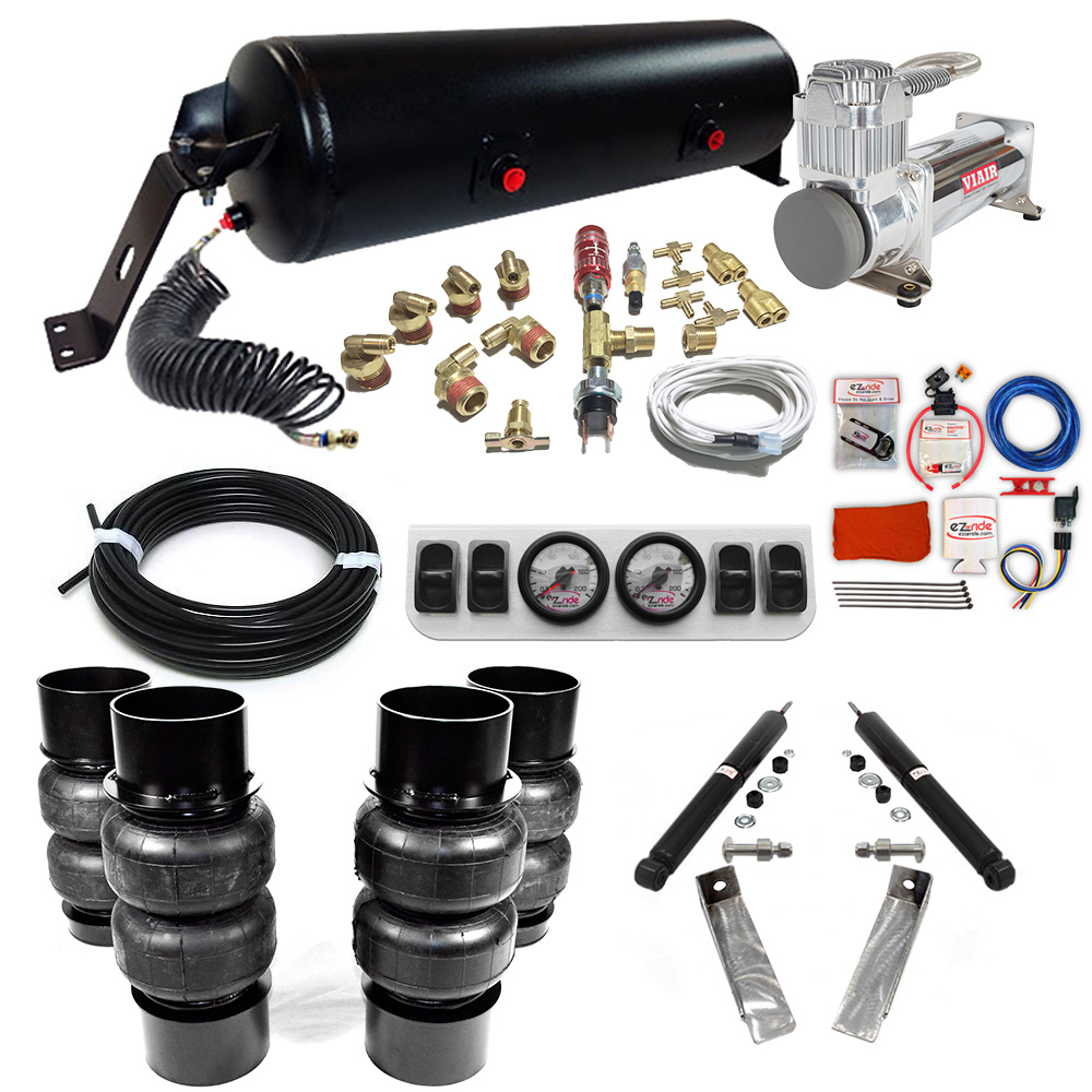 1973-1977 Chevy Chevelle Classic+ EZ Air Ride Suspension Kit