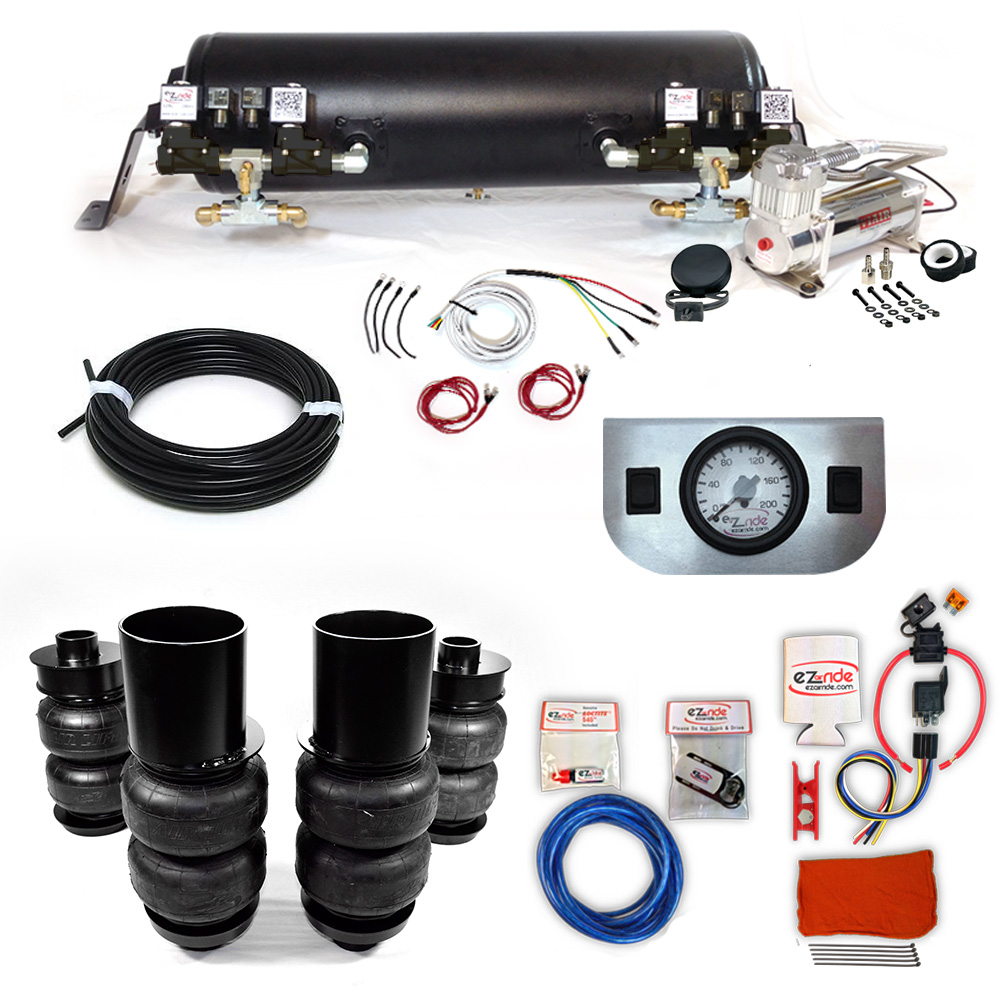1965-1970 Cadillac RWD Deluxe EZ Air Ride Suspension Kit